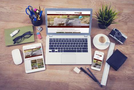 景观美化网页设计